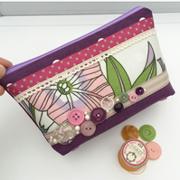 SALE Make Up Bag, Cosmetics Bag