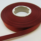 2 metres x 15mm Rust Dark Brown Satin Ribbon Double Sided