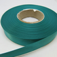 2 metres x 15mm Jade Dark Green Satin Ribbon Double Sided