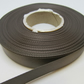2 metres x 15mm Gun Metal Dark Grey Satin Ribbon Double Sided