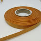 1 roll of 10mm Yellow Gold Satin Ribbon 25 metres Double Sided