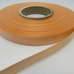 1 roll of 10mm Peach Satin Ribbon 25 metres Double Sided