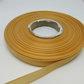 1 roll of 10mm Caramel Gold Satin Ribbon 25 metres Double Sided