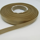 1 roll of 10mm Light Gold Satin Ribbon 25 metres Double Sided