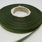 1 roll of 10mm Olive Dark Green Satin Ribbon 25 metres Double Sided