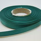 2 metres x 10mm jade dark green Ribbon Double Sided