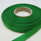 1 roll of 10mm Bright Emerald Green Satin Ribbon 25 metres Double Sided