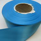 2 metres of 38mm Sky Light Blue, satin ribbon, double sided