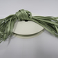 1 roll of 3mm MOss Dusky Sage Green satin ribbon minimum 10 metres