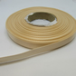 1 roll of 10mm Nude Light Beige Satin Ribbon 25 metres Double Sided