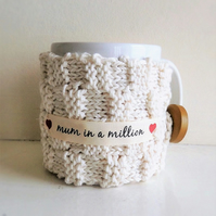 'Mum in a Million' mug and cozy set