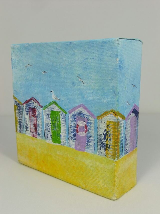 Canvas - Beach Huts