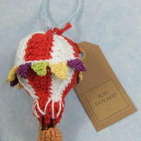 'Bon Voyage' Hot-air Balloon with Bunting