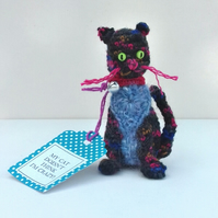 Crazy Crochet Cat