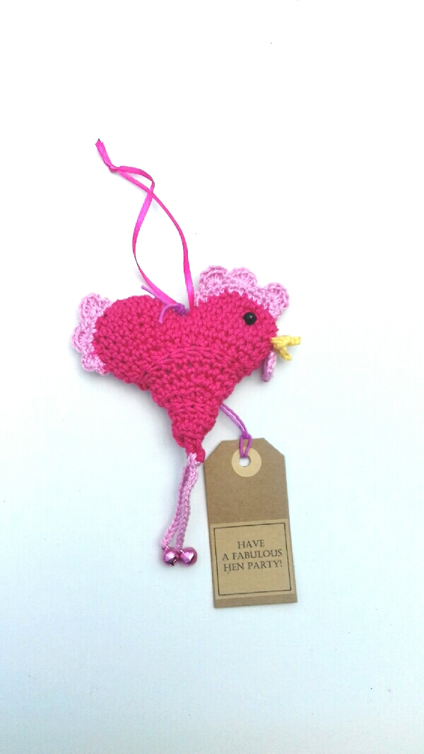 Happy Hen Crochet Keepsake
