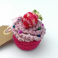 Mini Crochet Cupcake Pincushion