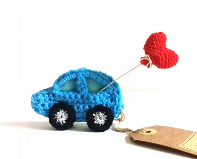 'You Drive Me Crazy!' Crochet Car