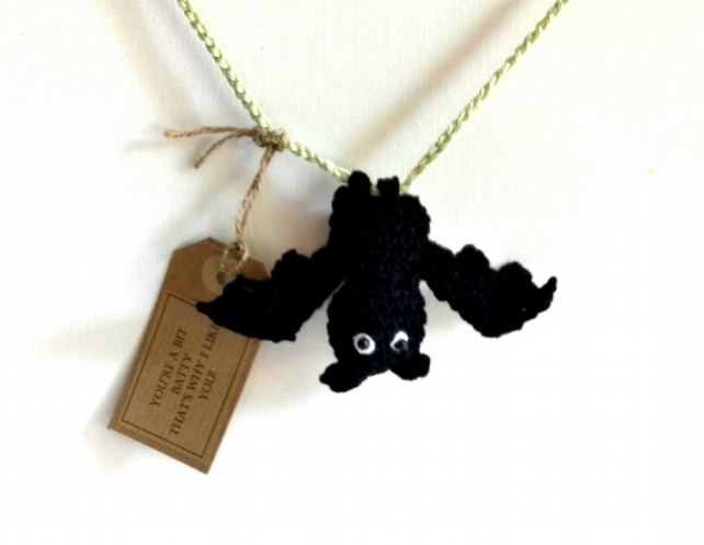 "You""re Batty! Crochet Keepsake Bat"