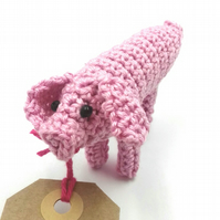 Crochet Messenger Pig