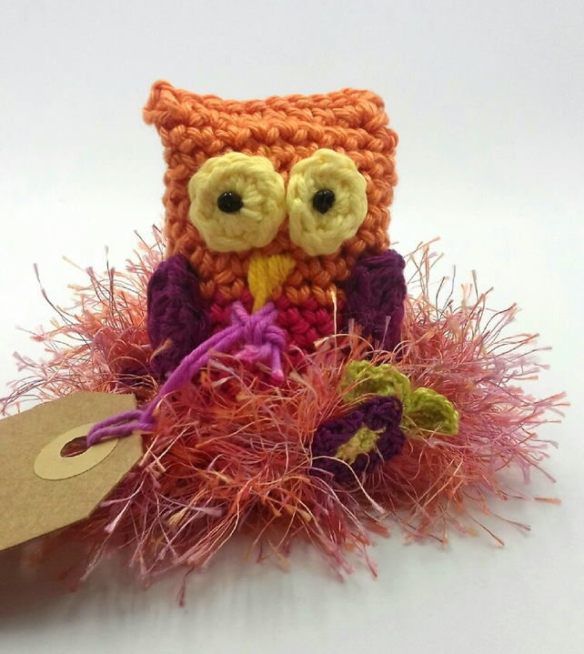 Crochet Owl 'Owl Always Be Here For You!'