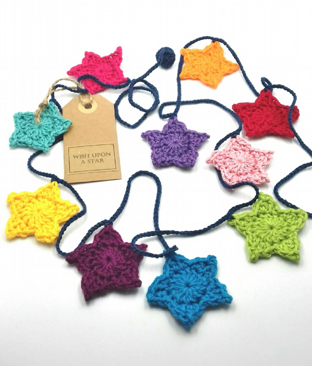 Reach for the Stars! Cochet Garland