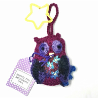 Crochet Owl - Bernie the Midnight Owl!