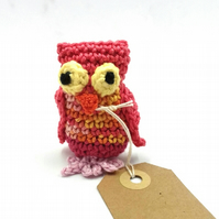 Mini Crochet Birthday Owl