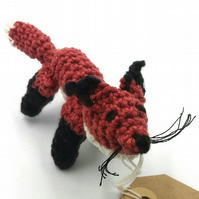 Crochet Birthday Fox