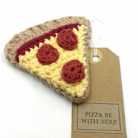 Crochet Pizza Slice