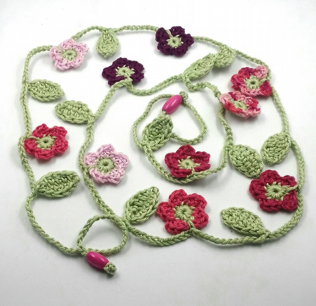 Flower Garland in Summer Colours