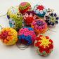 10 Mini  Granny Christmas Baubles
