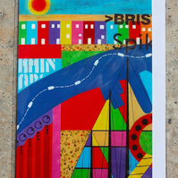 BRISTOL FASHION BLANK GREETINGS CARD