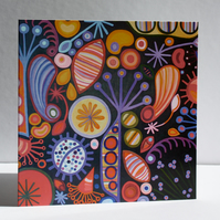 SEEDS-BLANK GREETINGS CARD