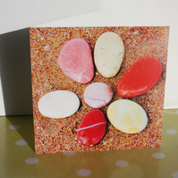 PELOPONNESIAN PEBBLES BLANK GREETINGS CARD