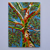 'SPIRIT OF THE TREE' - BLANK GREETINGS CARD