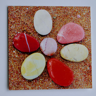 PEBBLES - BLANK GREETINGS CARD