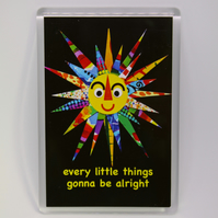 SUN FRIDGE MAGNET