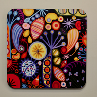 SEEDS-SINGLE COASTER-FREE POSTAGE