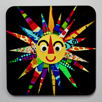 HERE COMES THE SUN COASTER-SINGLE-FREE P&P