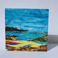 SECRET COVE-BLANK GREETINGS CARD