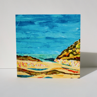 DOWN TO THE SEA-BLANK GREETINGS CARD