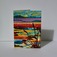ACROSS THE BAY-BLANK GREETINGS CARD