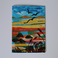 SEABIRD SONG-BLANK GREETINGS CARD