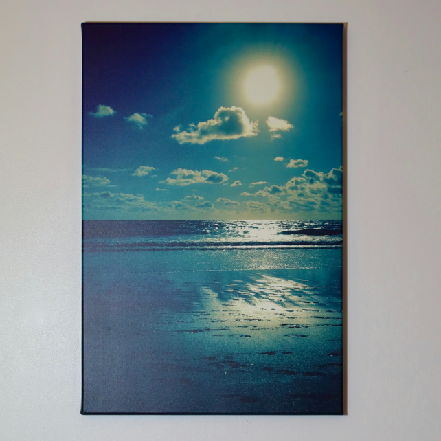 CORNISH SUNDOWN-CANVAS PHOTOPRINT