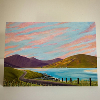NEW DAWN, LUSKENTYRE-BLANK GREETINGS CARD