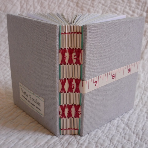 Small handbound notebook
