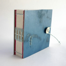 Mini 'Darned Indigo' Notebook