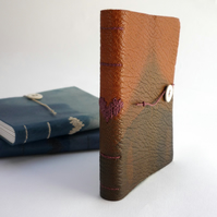 Small 'Indigo' Heart Notebook