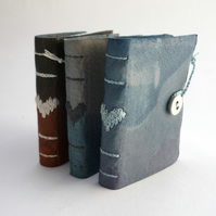 Tiny 'Indigo' heart book