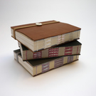 Small Notebook - recycled leather